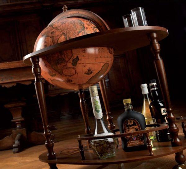 Royal server bar cart Giasone - studio photo 1