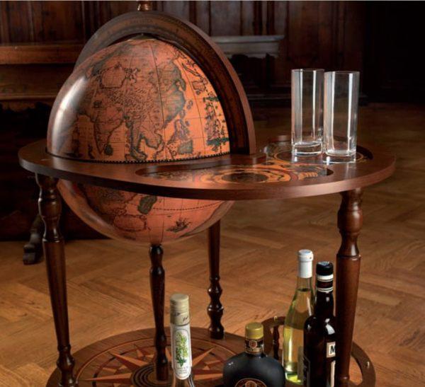 Royal server bar cart Giasone - studio photo 2