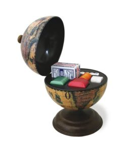 Casino globe game globe holder - catelog photo