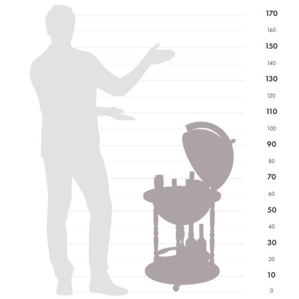 Giunone size chart graphic.