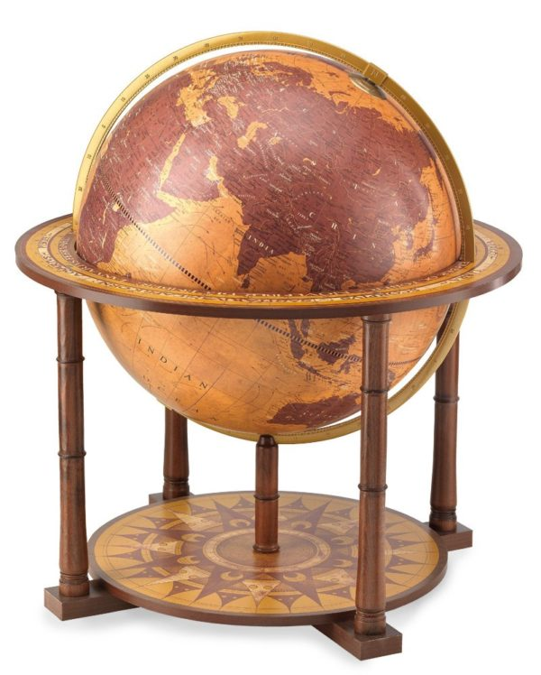 Gea Aries extra large current world globe - large photo