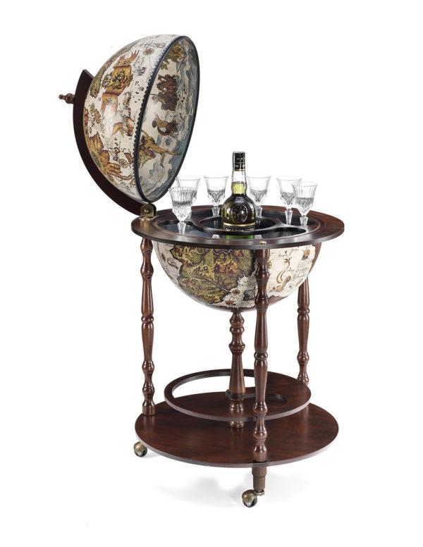 Globe bar cabinet Vanesio - product photo