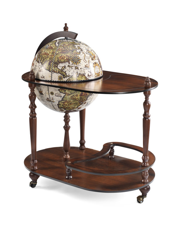 Vivalto bar globe cart - product photo - closed