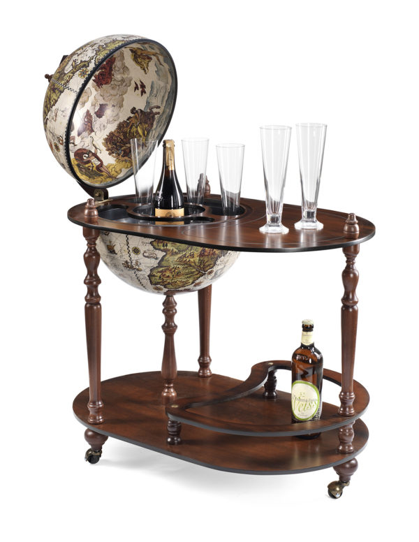 Vivalto bar globe cart - product photo