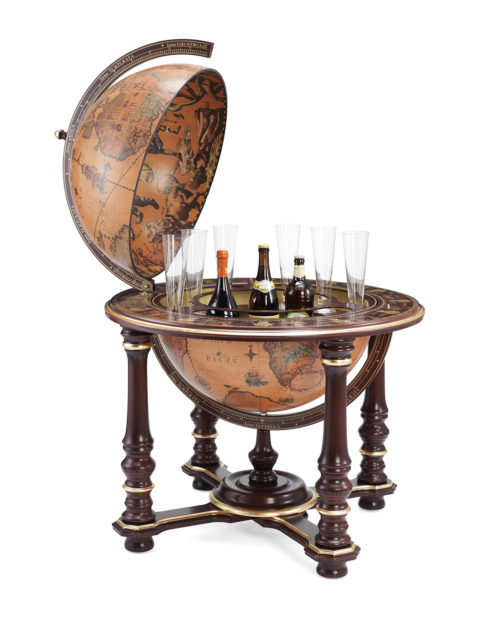 Elite floor globe bar Afrodite - product photo