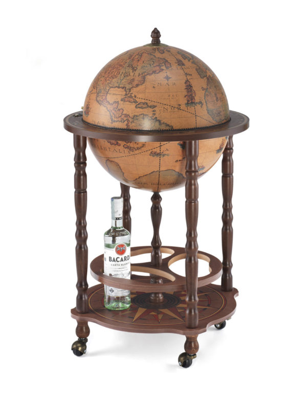 Product photo of classic color Enea floor globe bar - closed
