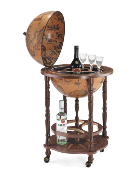 Product photo of classic color Enea floor globe bar
