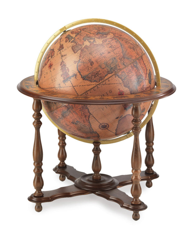 Floor-standing classic extra large globe Apollo - catalog photo