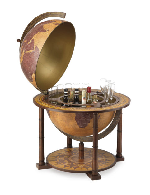 Gea Virgo contemporary globe bar - large photo