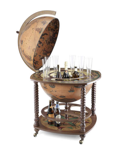 Caronte extra large globe bar cabinet - classic, product photo
