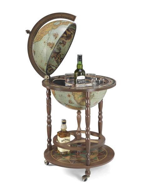 Image of the laguna color Giunone floor globe bar