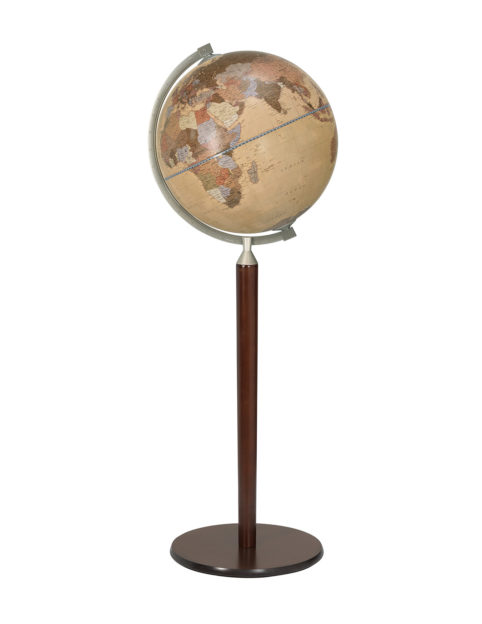 Photo of apricot color Vasco da Gama Floor-Standing World Globe