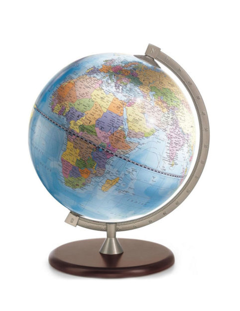 James Cook educational desk globe - blue, product photo
