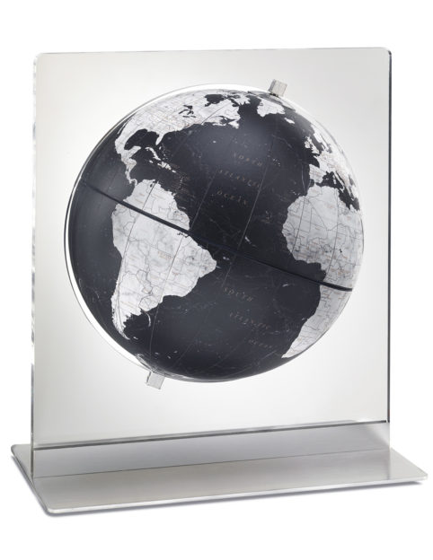 Product photo of black Italian Aria desk globe