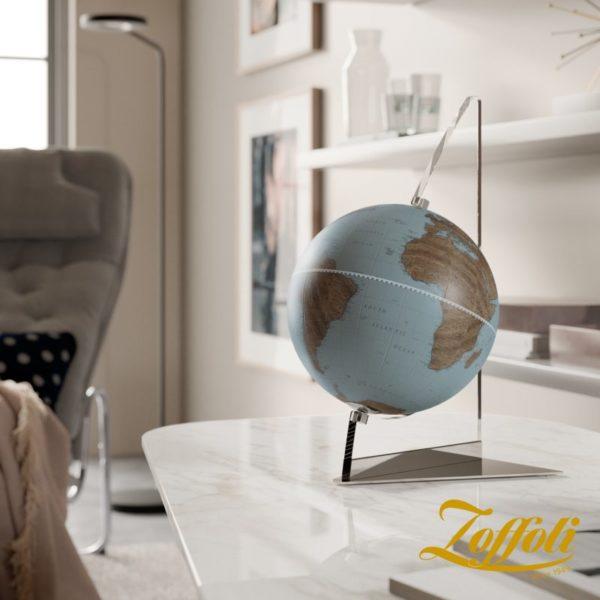 Studio photo of the Floating Vela Small Desk Globe   Avio