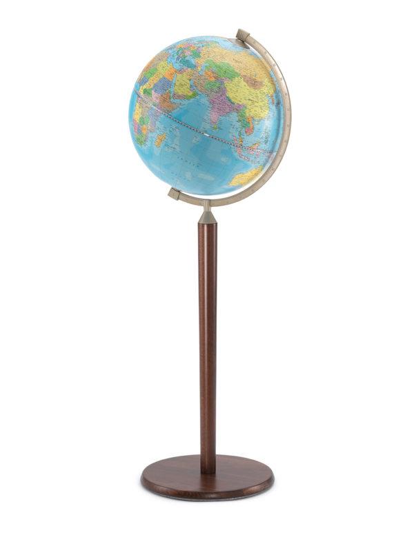 Image of Light Blue l Vasco da Gama Floor-Standing Terrestrial Globe Z.920.01