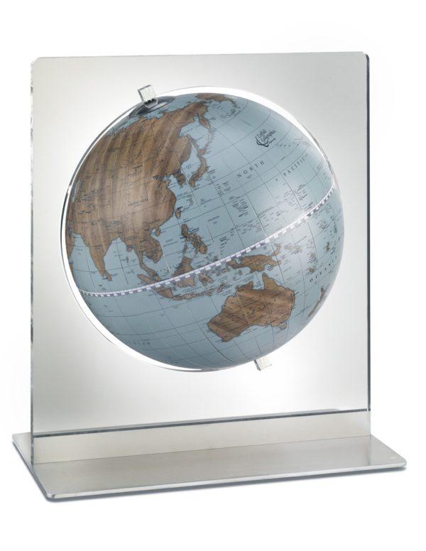 Catalog photo of the Italian Aria Blue Desk Globe