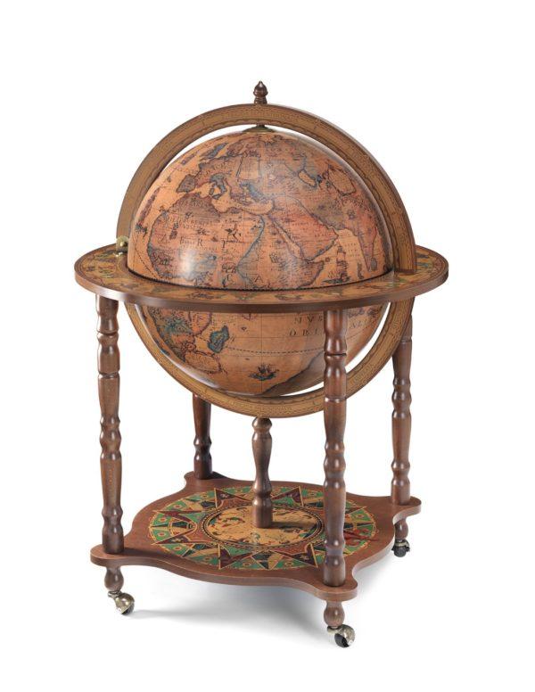 Catalog photo of the large Full Meridian Globe Bar Dedalo   Classic - closed