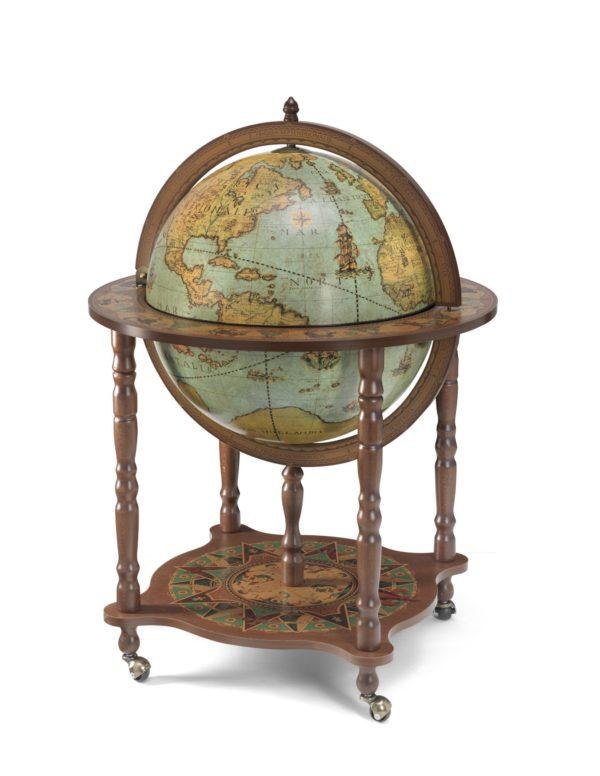 Catalog photo of the large Full Meridian Globe Bar Dedalo | Laguna - closed